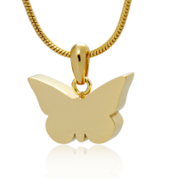 190: Gold Butterfly