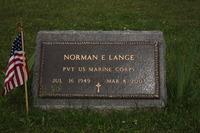 24' x 12' Veterans Bronze Marker on a slant base
