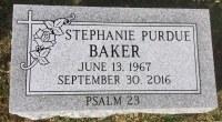 The Monument of Stephanie Purdue Baker