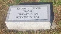 The Monument of Amanda M. Johnson