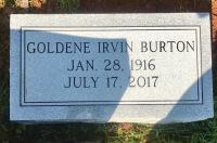 The Monument of Goldene Irvin Burton