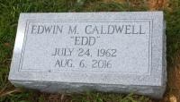 The Monument of Edwin Edd M. Caldwell