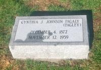 The Monment of Cynthia J. Johnson Fagaly (Fagley)