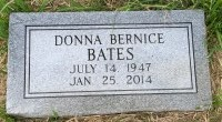The Monument of Donna Bernice Bates