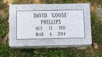 The Monument of David (Goose) Phillips