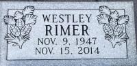 The Monument of Westley Rimer
