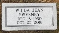 The Monument of Wilda Jean Sweeney