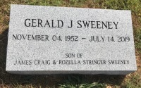 The Monument of Gerald J Sweeney