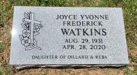 The Monument of Joyce Yvonne Frederick Watkins