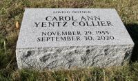 The Monument of Carol Ann Yentz Collier