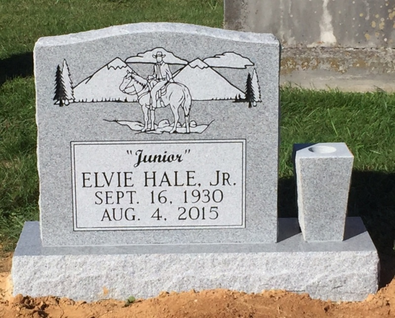 The Monument of Elvie (Junior) Hale, Jr.