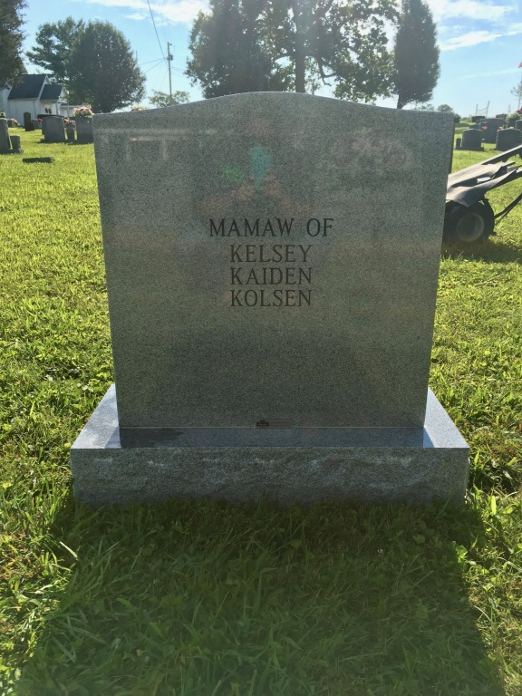The Monument of Carolyn Sue King