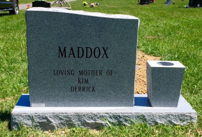 The Monument of Linda Ann Carey Maddox