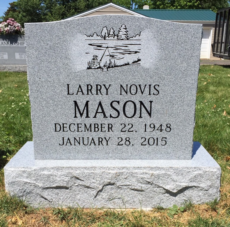 The Monument of Larry Novis Mason