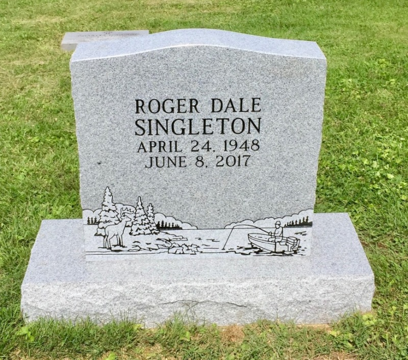 The Monument of Roger Dale Singleton