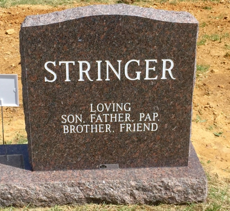 The Monument of Donald James Stringer