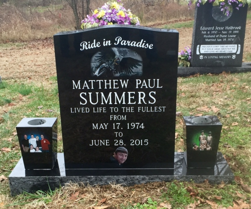 The Monument of Matthew Paul Summers
