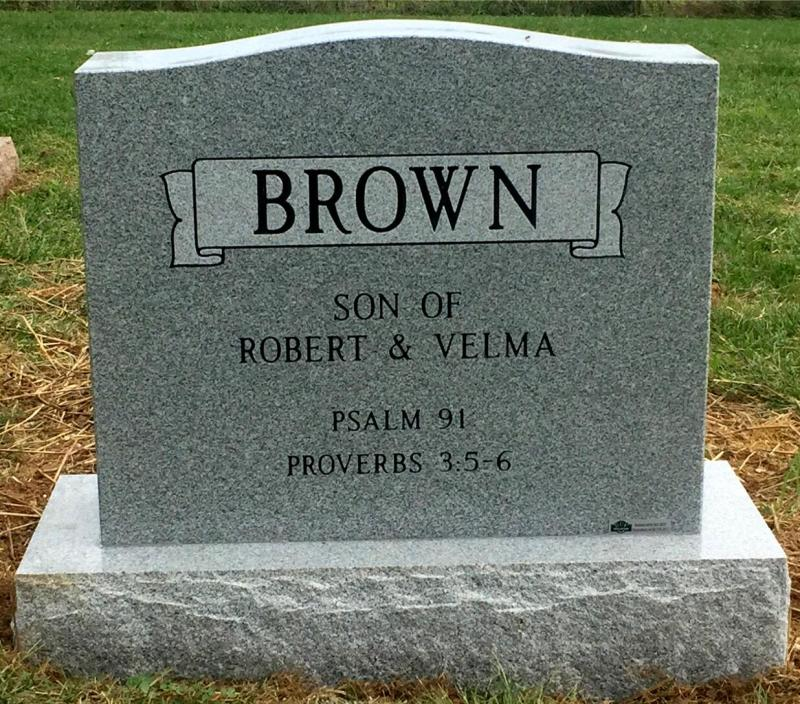 The Monument of Robert (Robbie) James Brown, Jr.