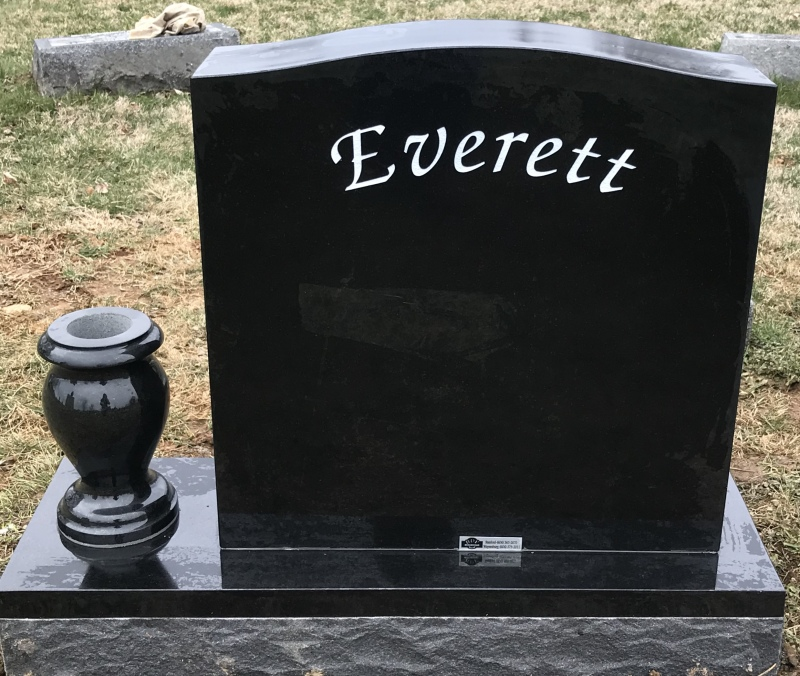 The Monument of Daren Thomas Everett