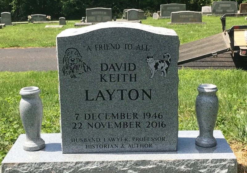 The Monument of David Keith Layton