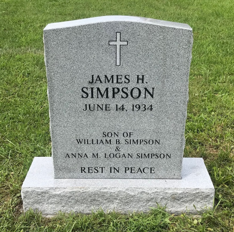 The Monument of James H. Simpson