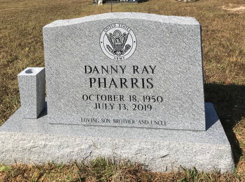 The Monument of Danny Ray Pharris