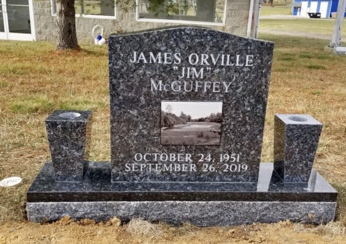 The Monument of James Orville (Jim) McGuffey