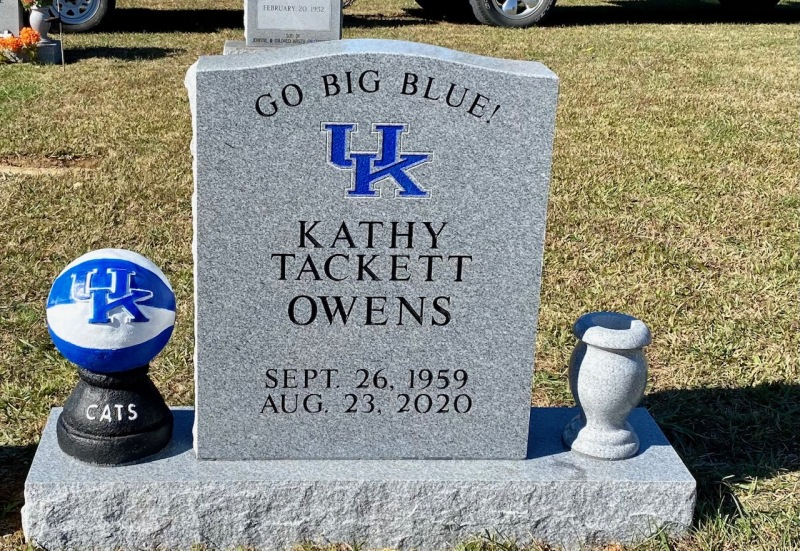 The Monument of Kathy Tackett Owens