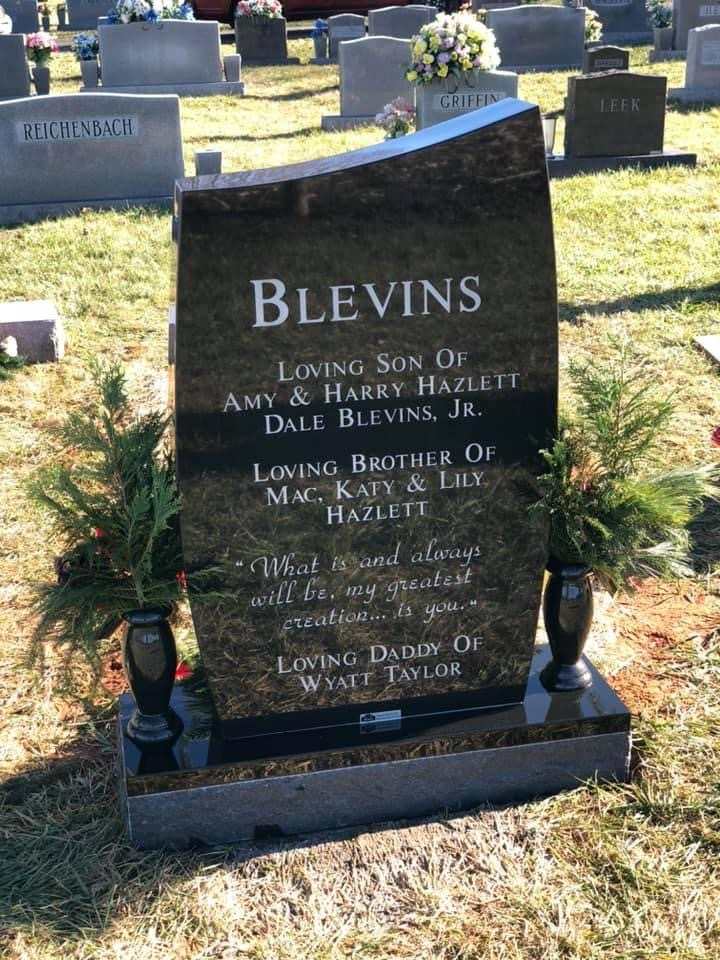 The Monument of Ian Taylor Blevins