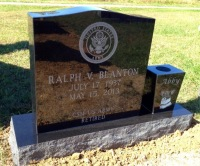The Monument of Ralph V. Blanton