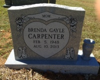 The Monument of Brenda Gayle Carpenter