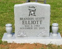 The Monument of Brandon Scott (Scotty) Elliott