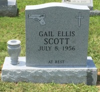 The Monument of Gail Ellis Scott
