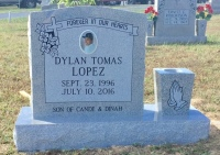 The Monument of Dylan Tomas Lopez