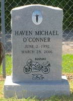 The Monument of Haven Michael O'Conner