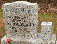The Monument of Beverly Gwen Miracle Southerland