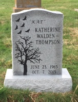The Monument of Katherine (Kat) Walden-Thompson