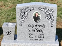 The Monument of Lily Brooke Bullock