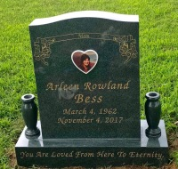 The Monument of Arleen Rowland Bess