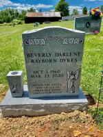 The Monument of Beverly Darlene Rayborn Dykes