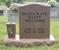 The Monument of Diana Kaye Hasty Williams