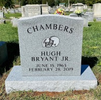 The Monument of Hugh Bryant Chambers, Jr.