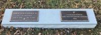 The Foot Marker of Hubert B., Jr. & Nell Peek Deatherage