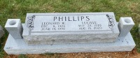 The Monument of Leonard and Lucille Phillips