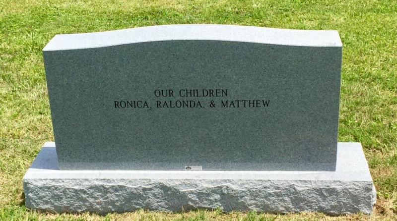 The Monument of Ronda Ron & Gloria J. Austin