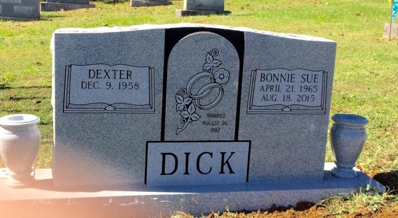 The Monument of Dexter & Bonnie Sue Dick