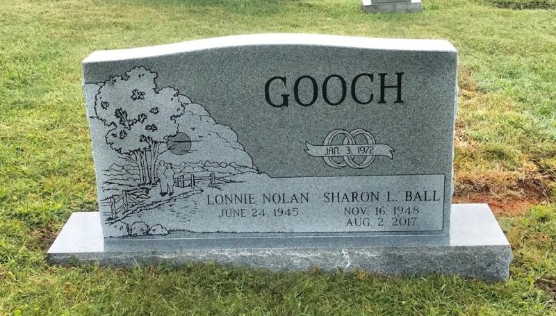 The Monument of Lonnie Nolan & Sharon L. Ball Gooch