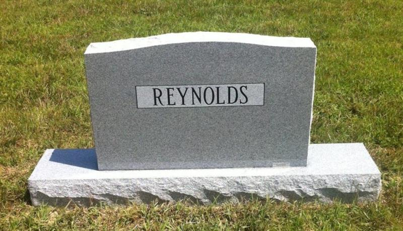 The Monument of Leroy Ray & Shirley Lowery Reynolds