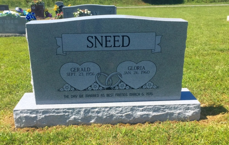 The Monument of Gerald & Gloria Sneed