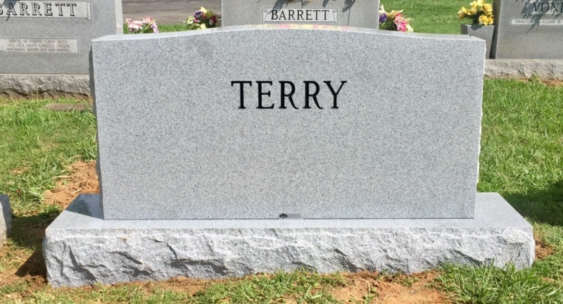 The Monument of Norman R. & Deloris J. Sims Terry